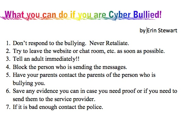 How to Handle Cyber Bullying